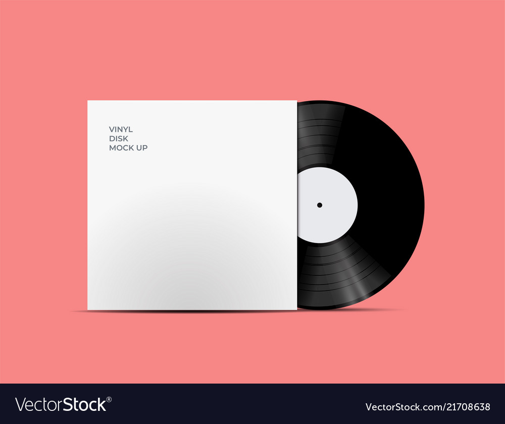 Lp record vinyl disc cover