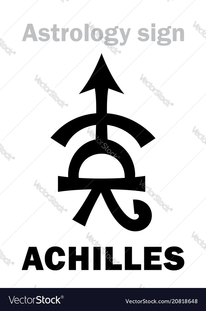 Astrology asteroid achilles