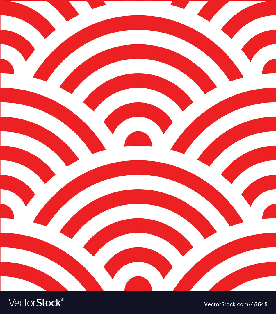 wave pattern japanese royalty free vector image rh vectorstock com japanese vector designs japanese vector background