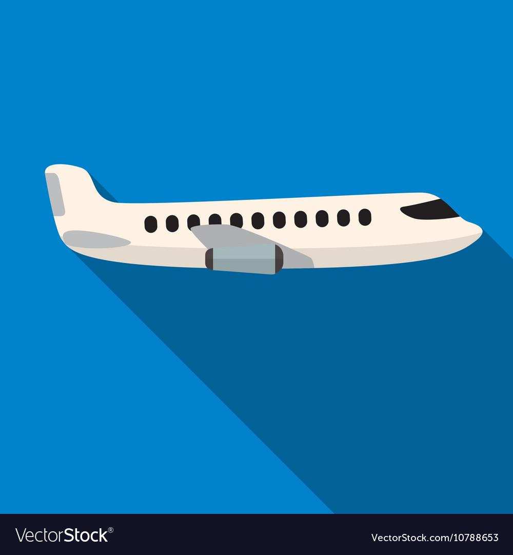 Plane flat icon