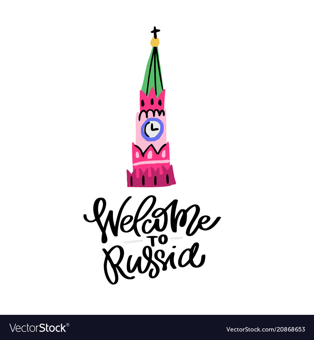 Welcome to russia with kremlin