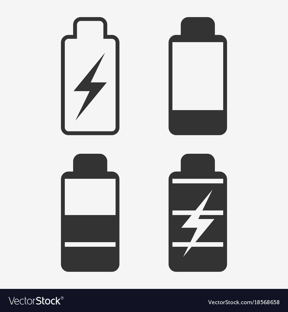 battery energy cell phone royalty free vector image vectorstock