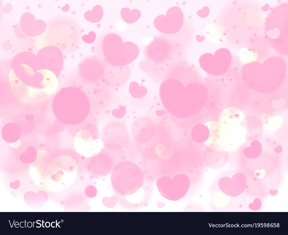 Soft pink romance background for greeting card