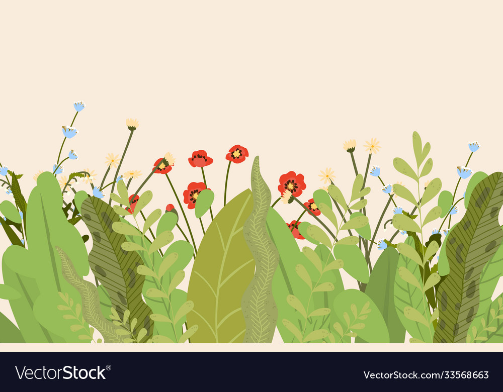 Banner flowers summer flower floral design