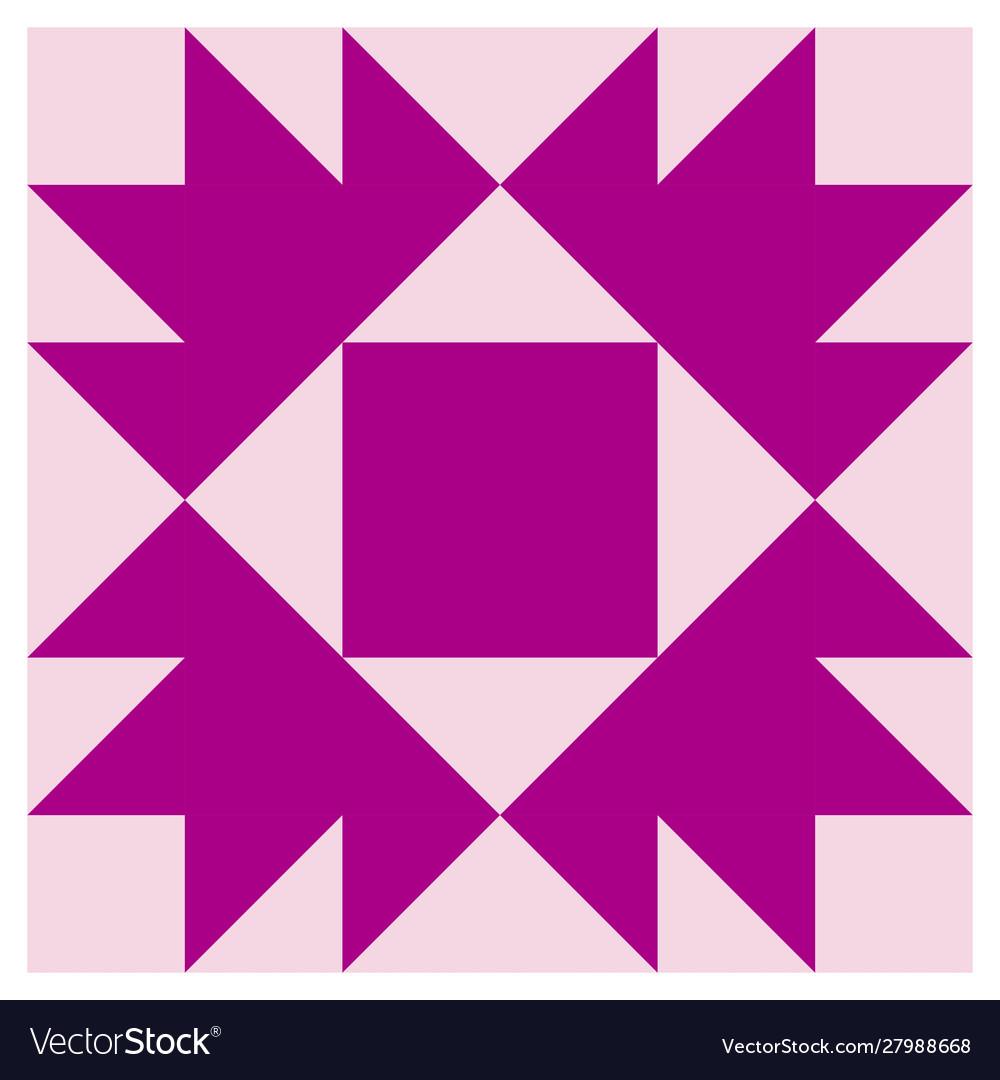 Barn quilt pattern amish patchwork design