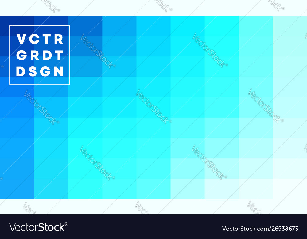 Blue gradient background template design vector