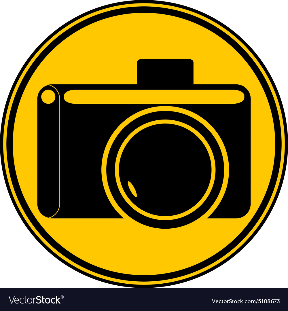 camera button royalty free vector image vectorstock rh vectorstock com vector camera png vector camera system