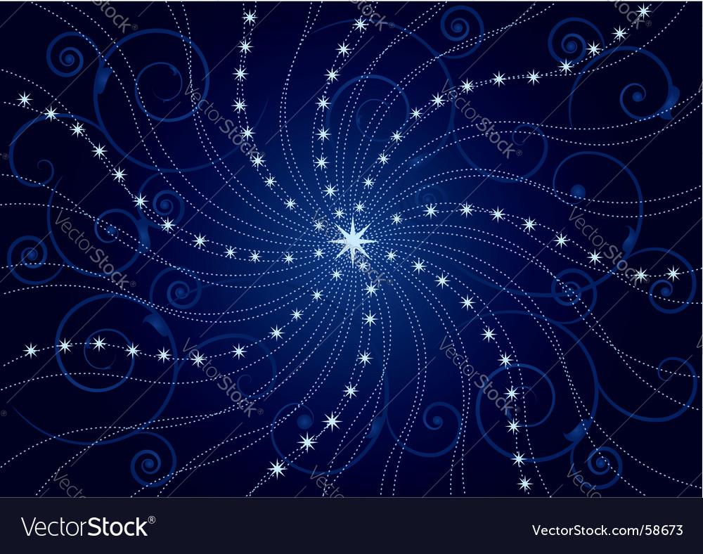 Star fairy vector image