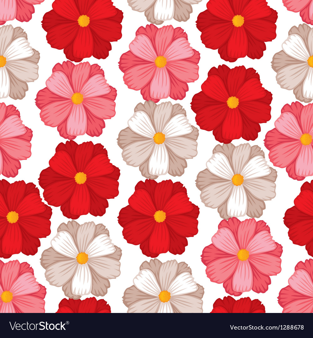 Flower seamless color