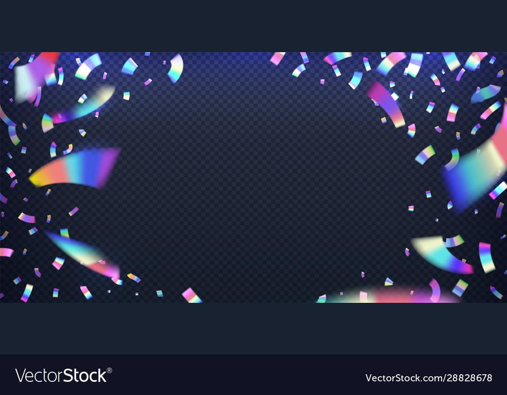 Neon foil glitter metal foil effect hologram