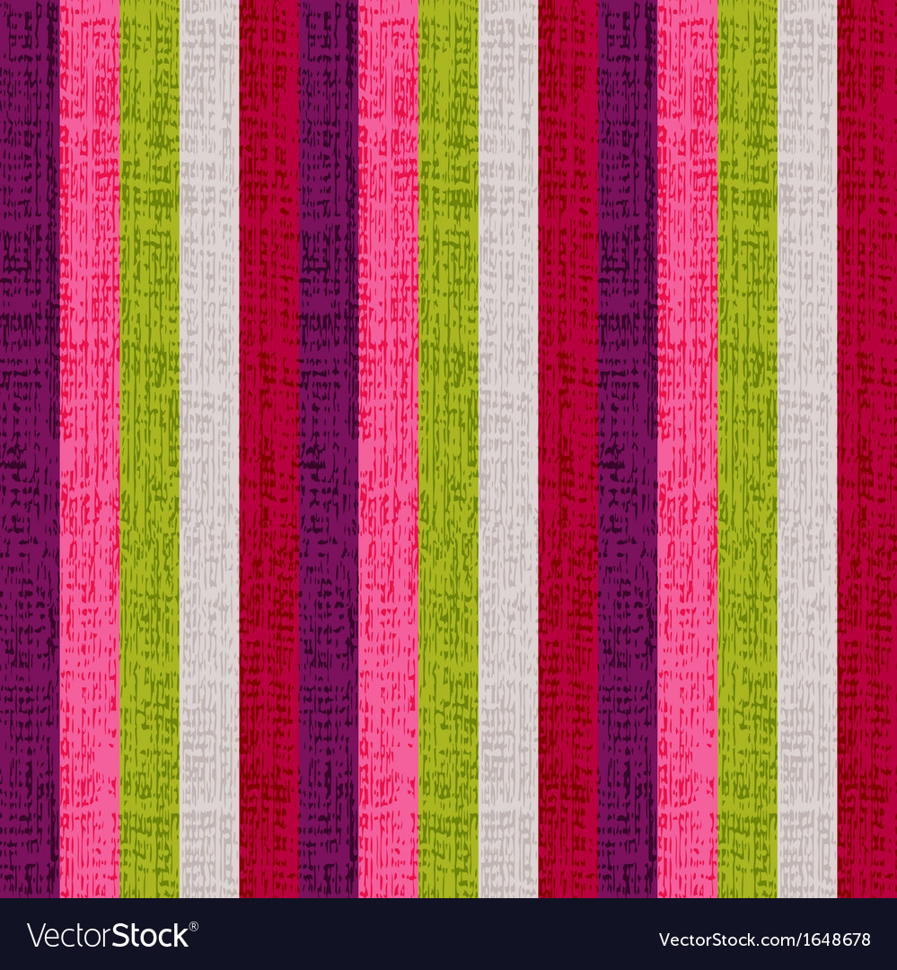 Vertical colorful retro stripes background vector image