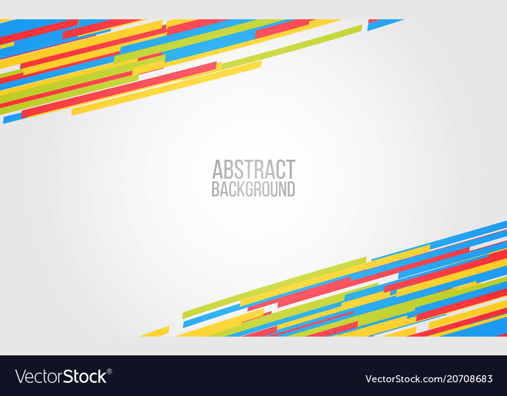 Abstract color lines background colorful shapes