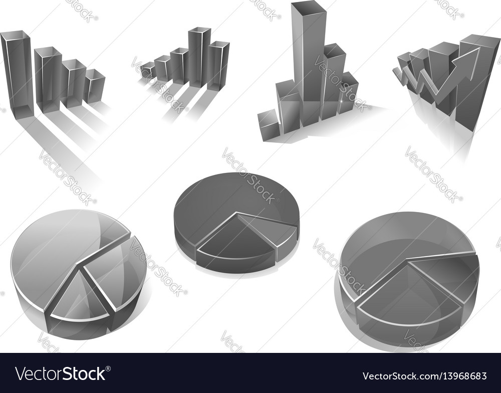 Business diagrams and charts icons
