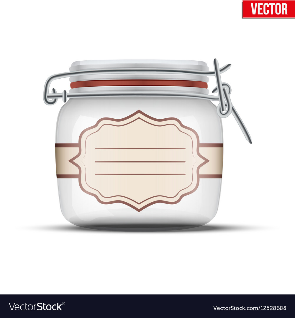 Glass Jar for canning
