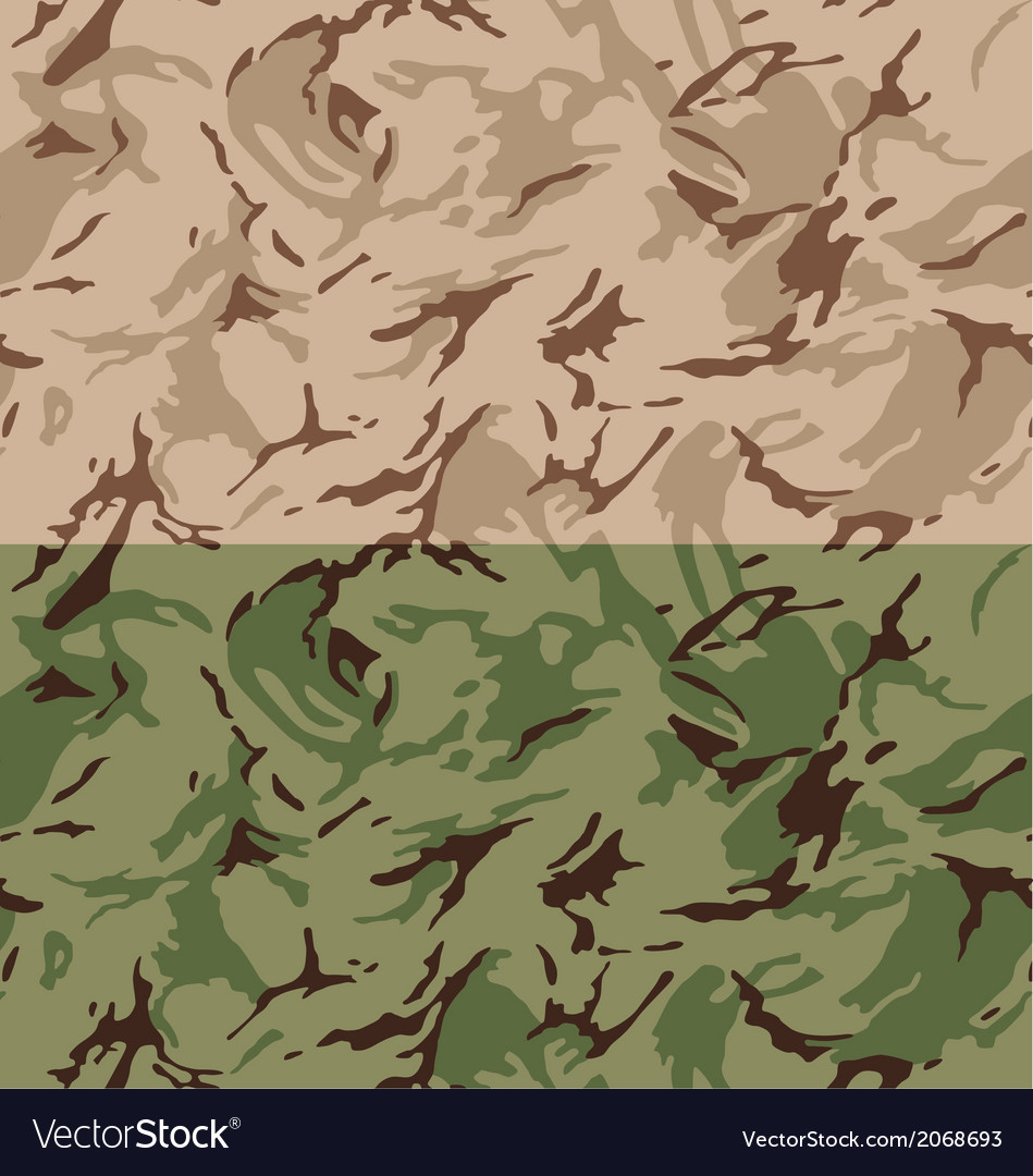 Desert camouflage seamless pattern