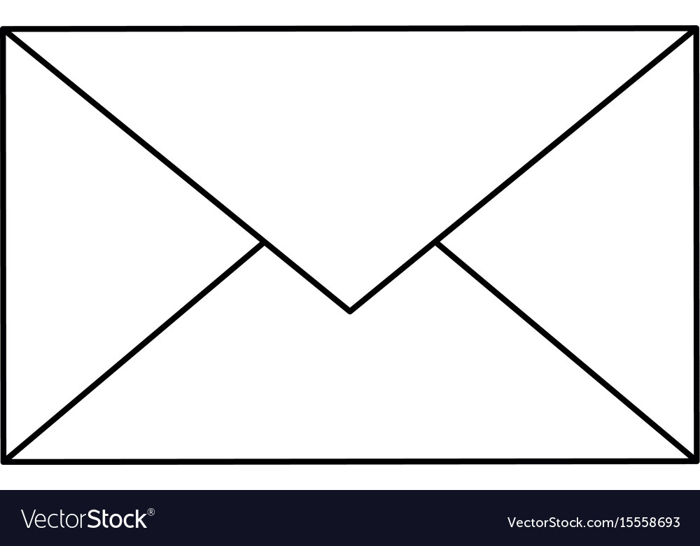 Email Or Mail Symbol Royalty Free Vector Image