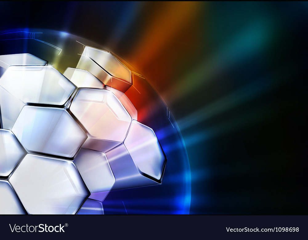 Science Background horizontal vector image