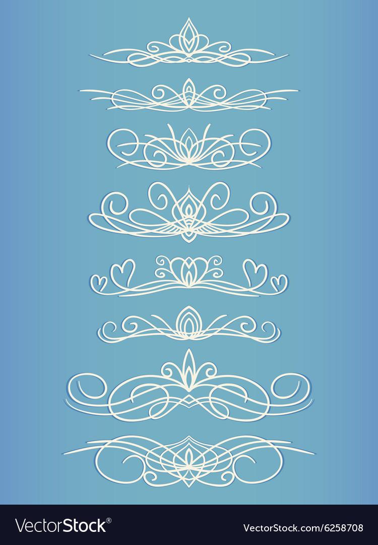 Calligraphic line