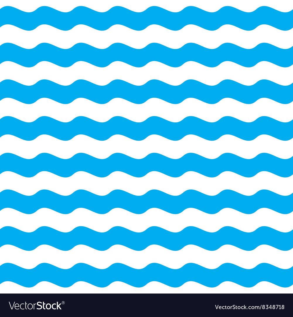 Blue wave seamless pattern background