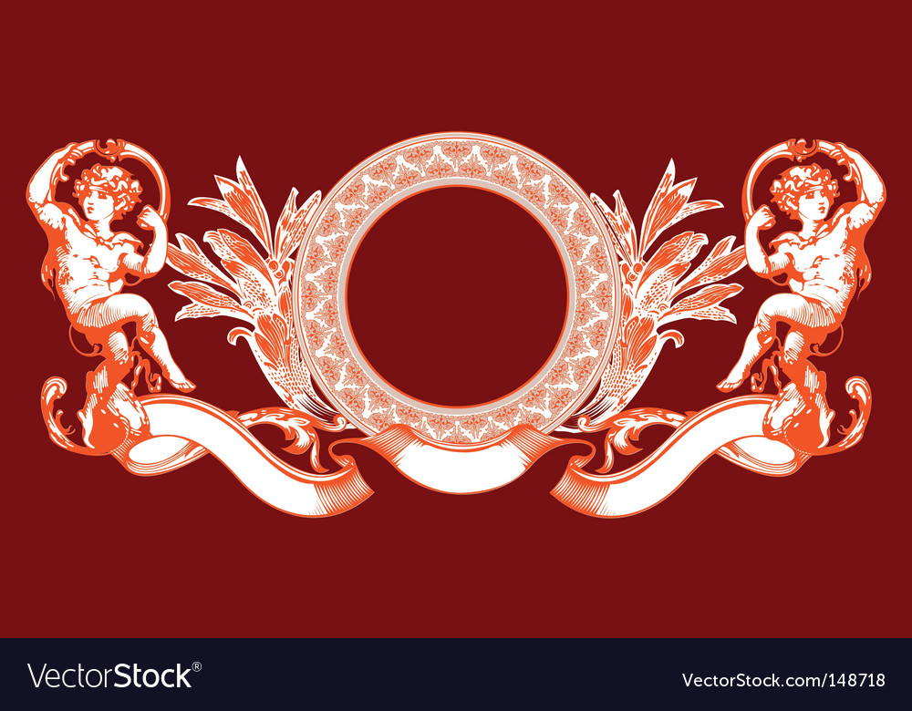 Cupid sign vector image