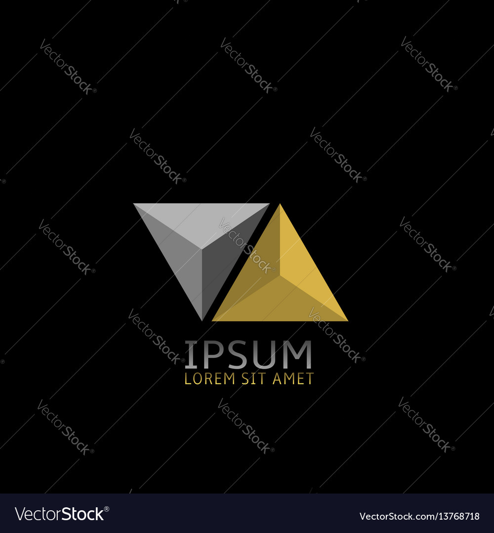 Pyramids logo icon