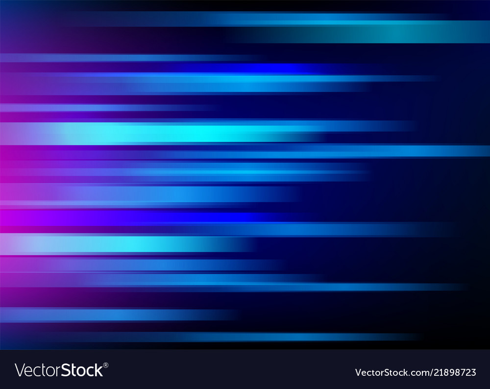 Abstract blue background with light horizontal
