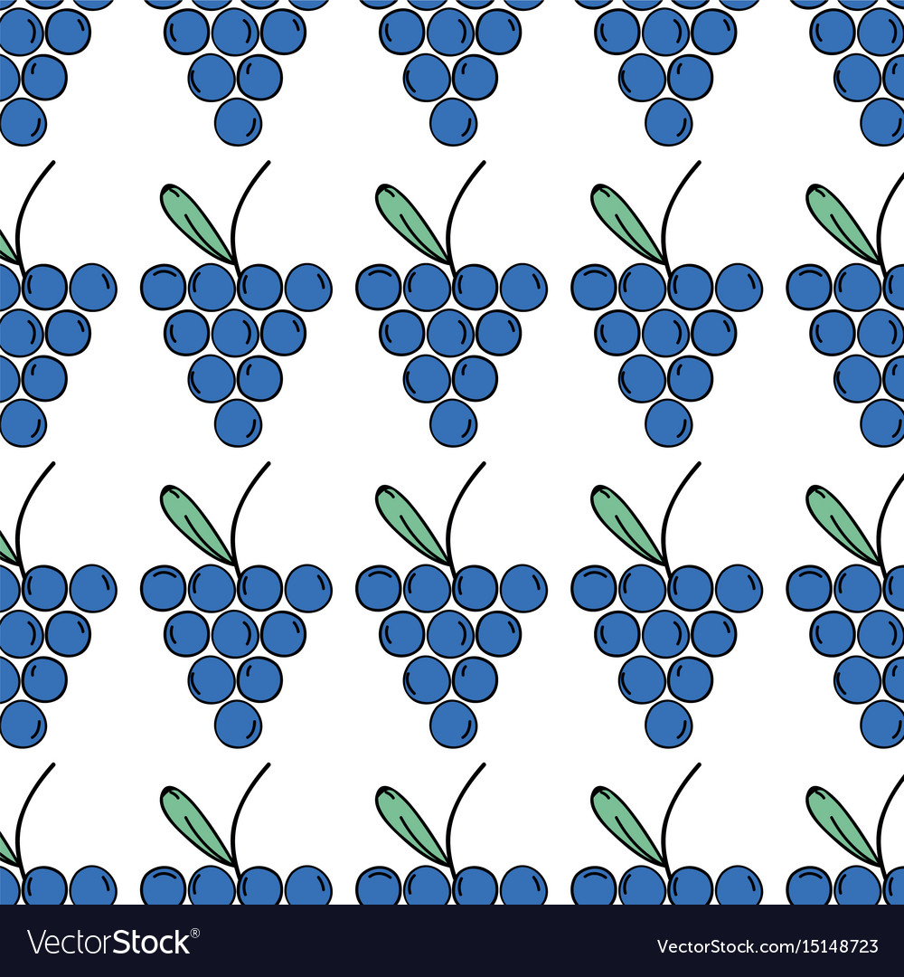 Fresh grape fruit and organ food background vector image