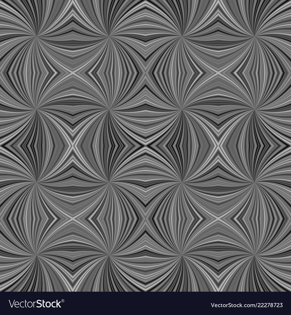 Grey abstract psychedelic seamless striped swirl