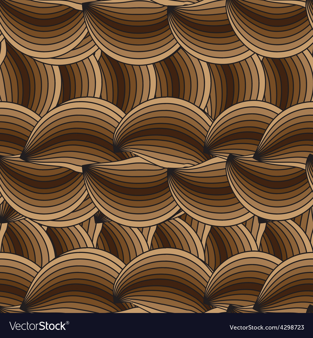 Horizontal seamless texture with waves