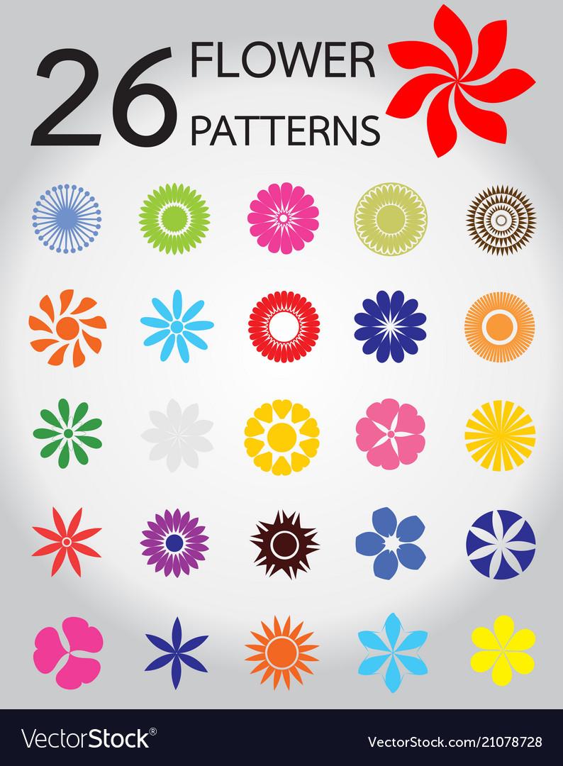 26 of flower pattern