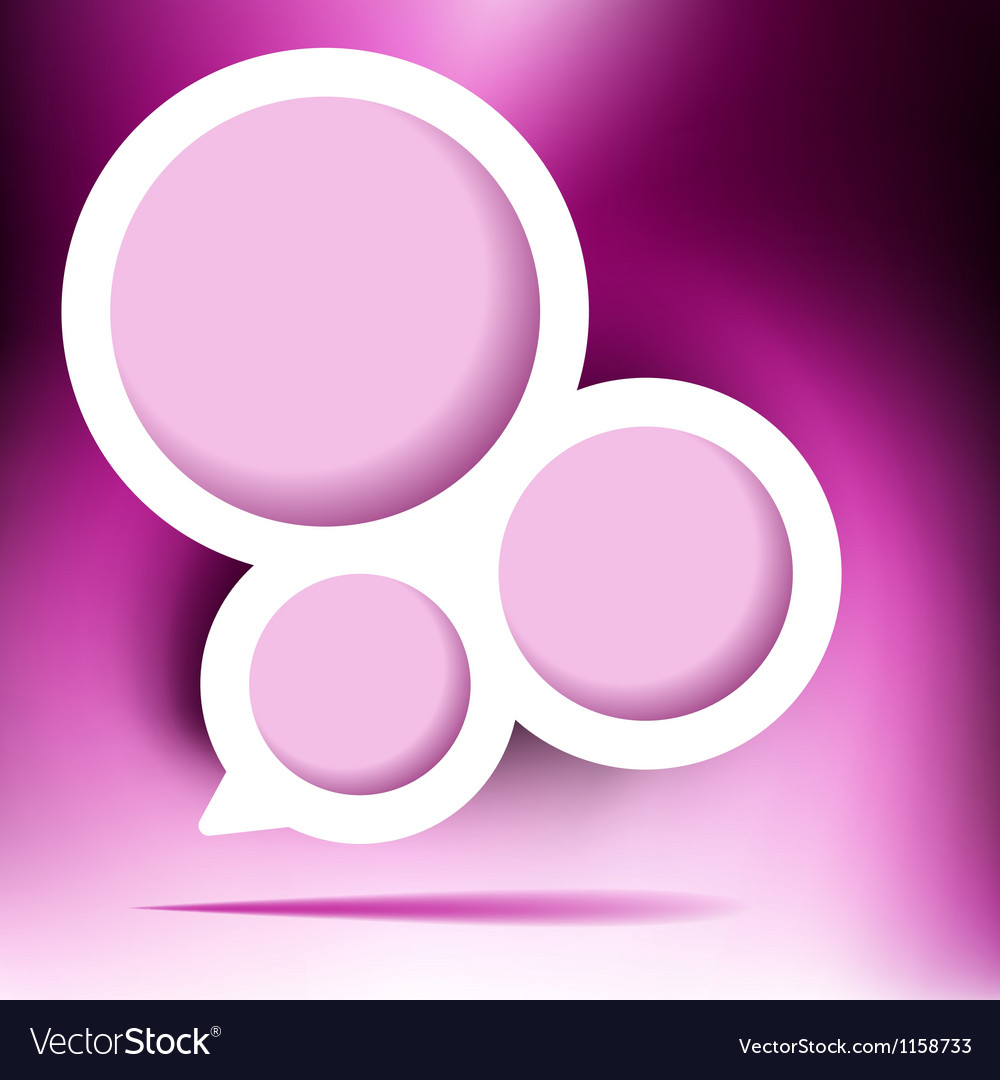 Abstract web design bubble EPS8