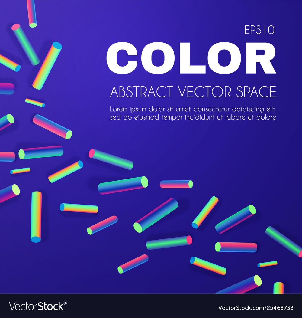 Retro background neon vibrant color
