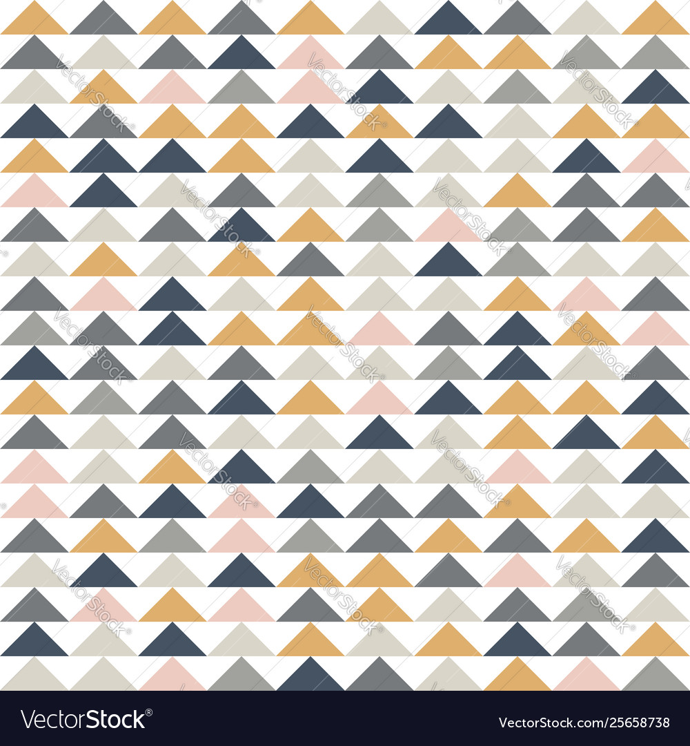 Abstract geometric seamless pattern triangle