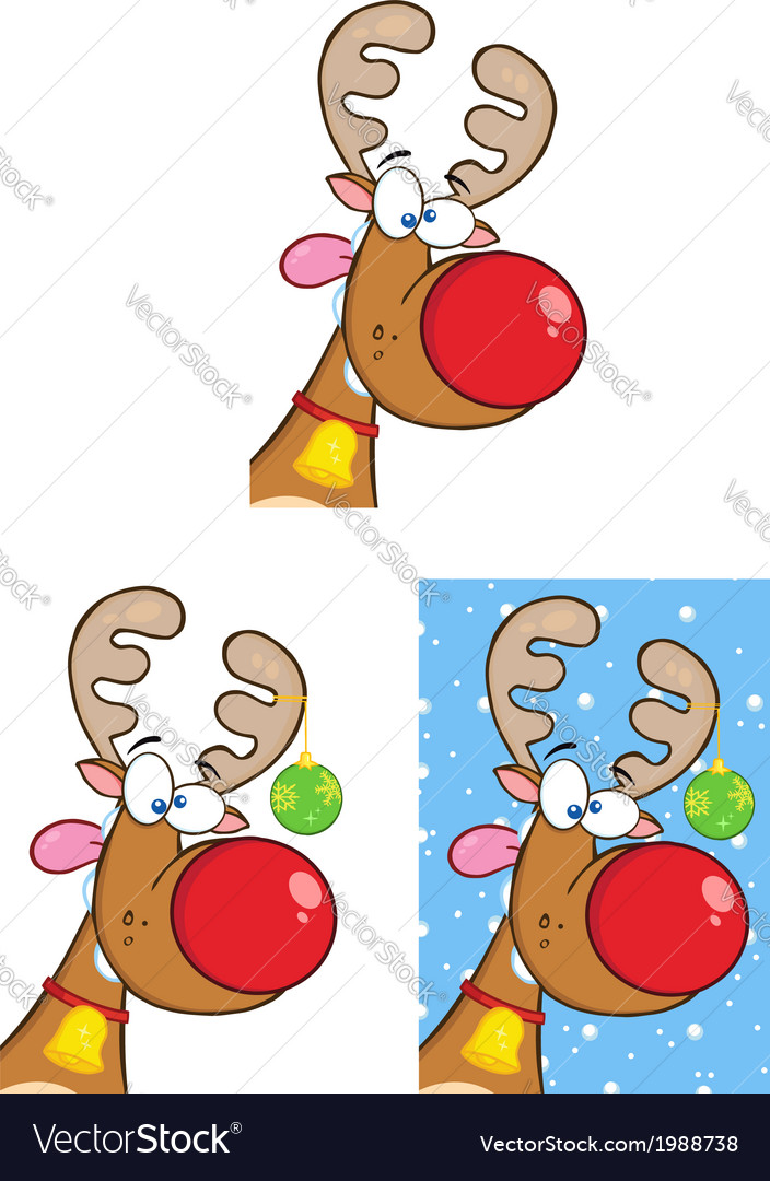 Christmas cartoons Royalty Free Vector