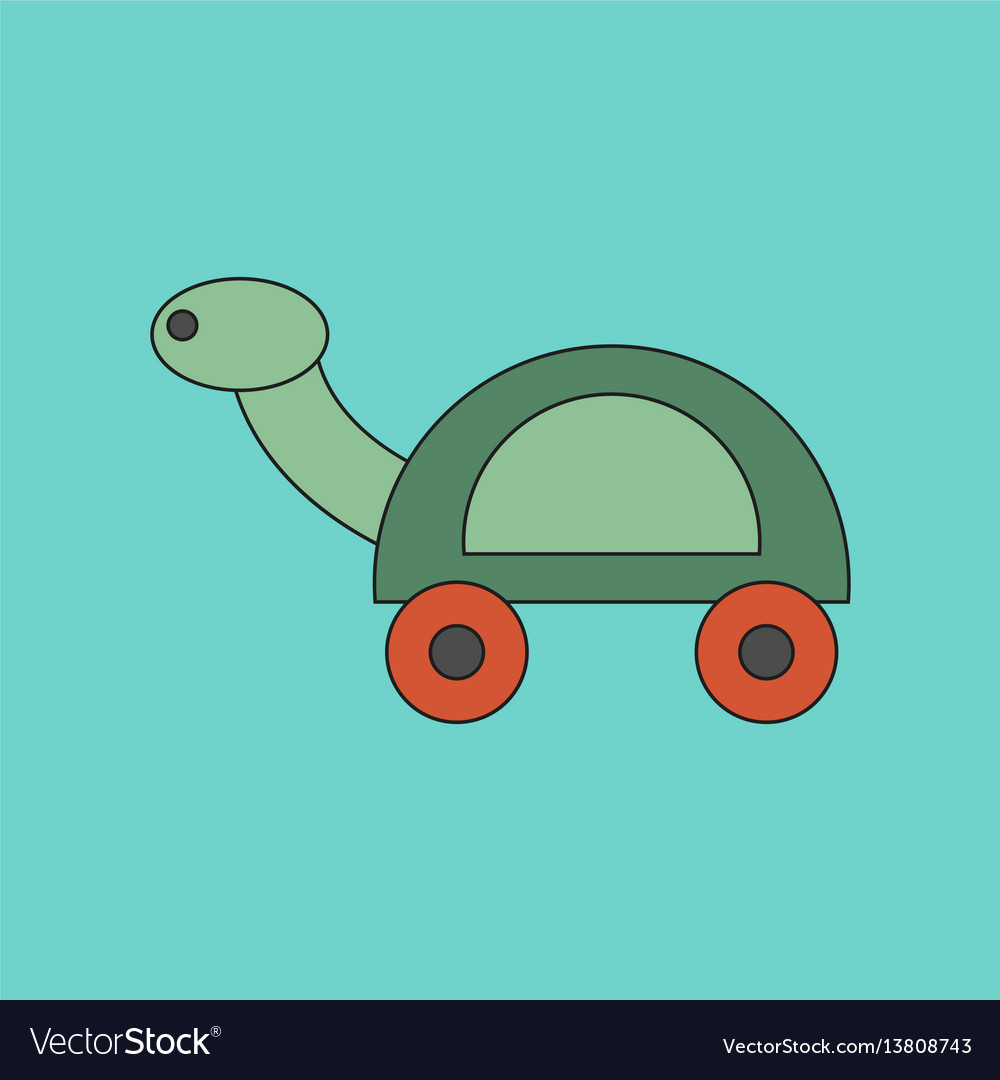funny turtle cartoons outlined cartoon drawing