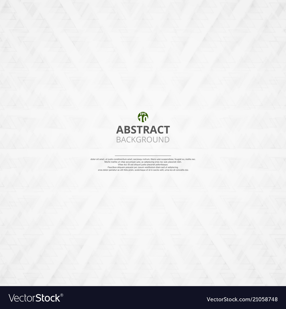 Abstract of grey triangle pattern background