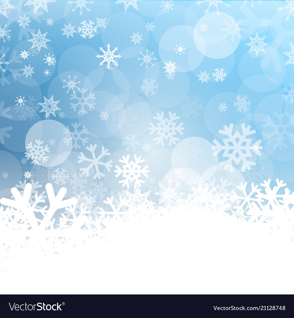 Cold background frozen winter design with