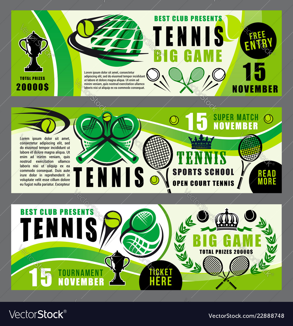 Tennis Team Banners Insurance Company Banners