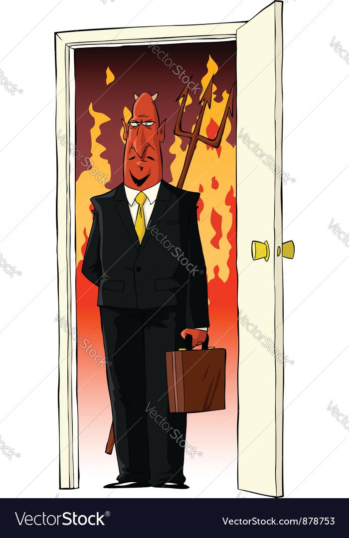 Devil in the door