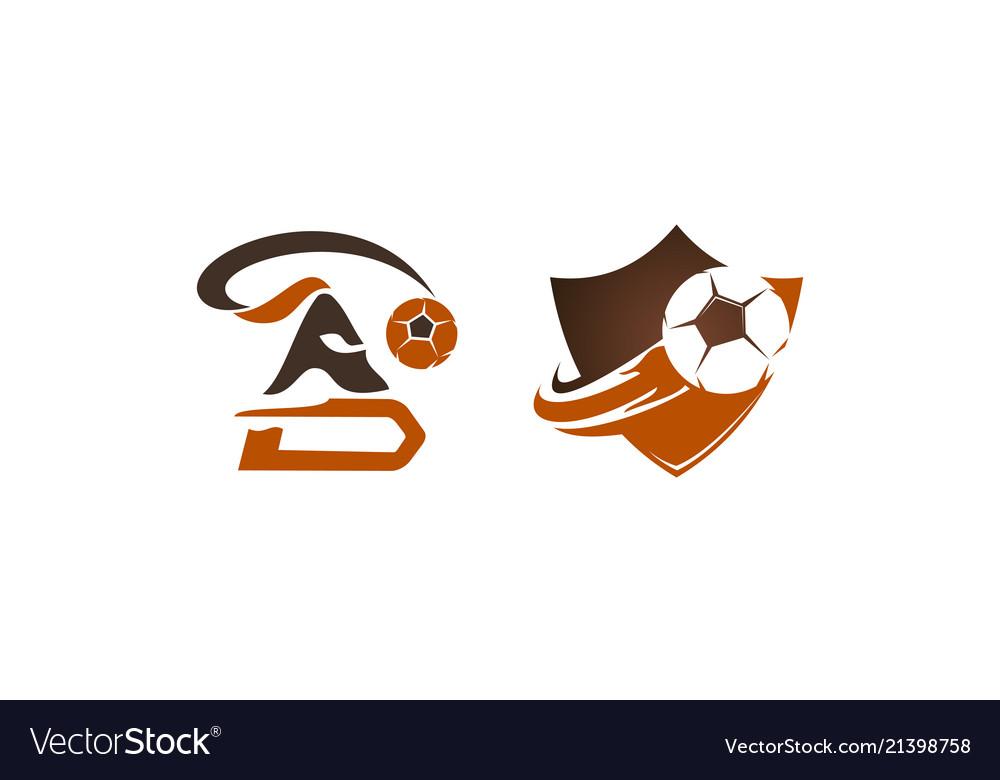 Football warrior template set