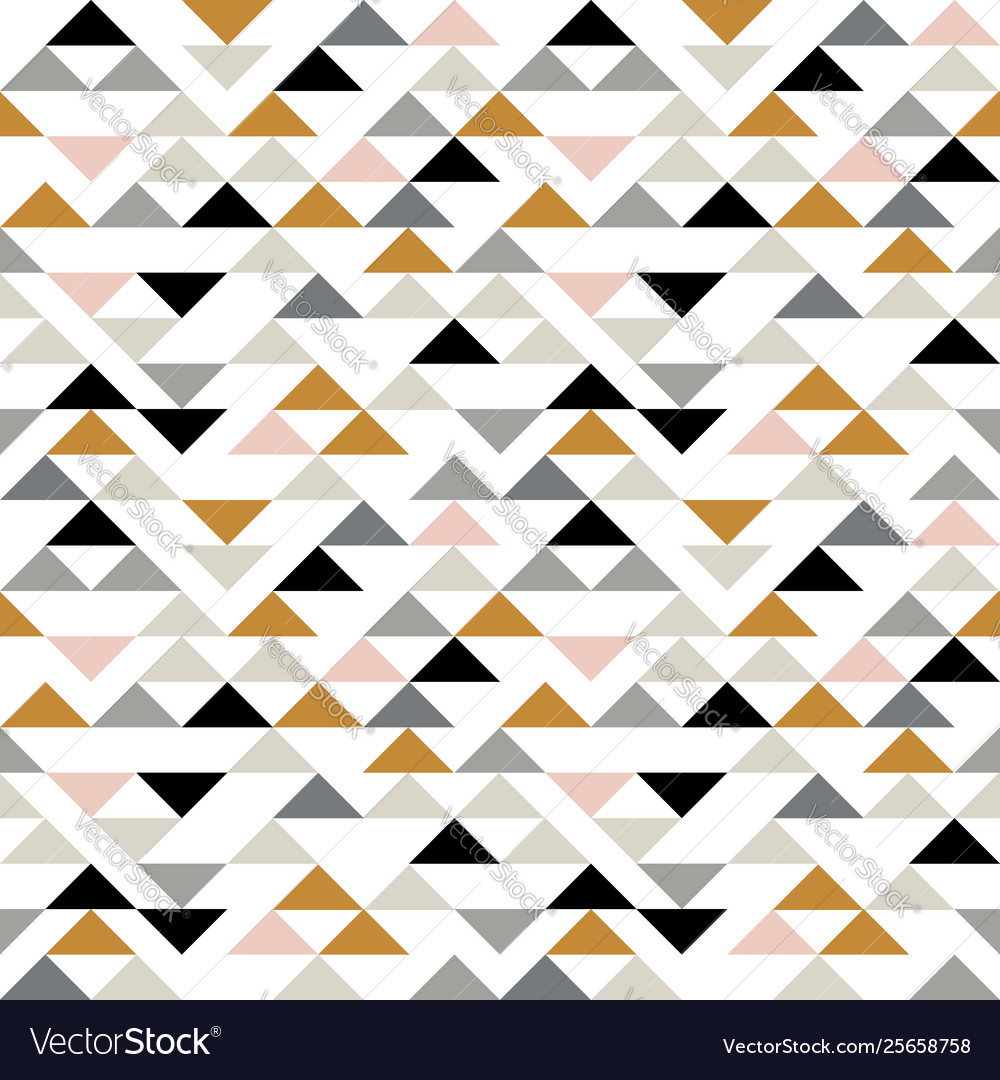 Triangle seamless pattern modern abstract
