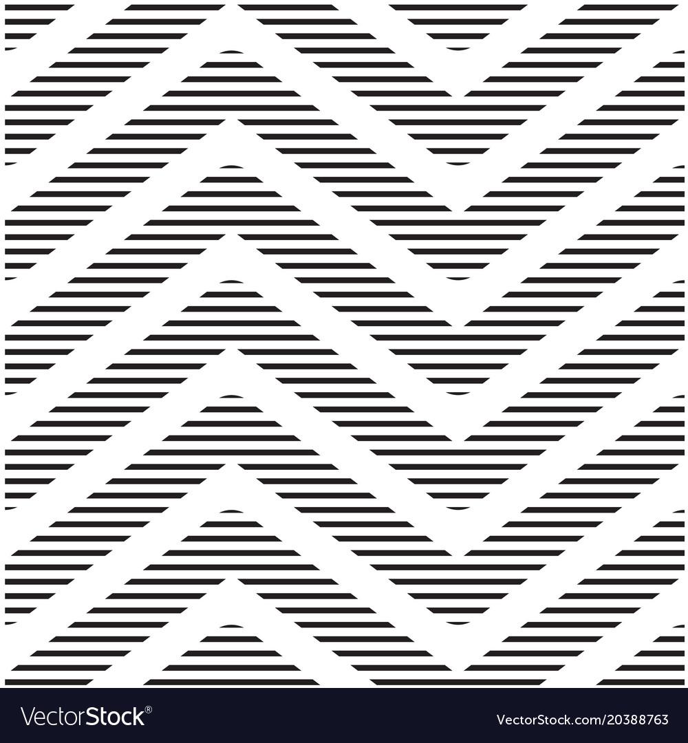 Geometric chevrons art pattern background i vector image