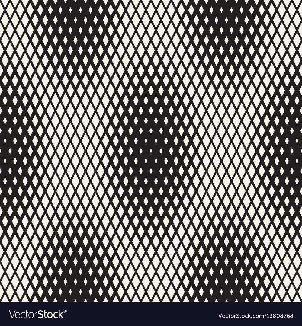Repeating shape halftone modern geometric lattice vector image