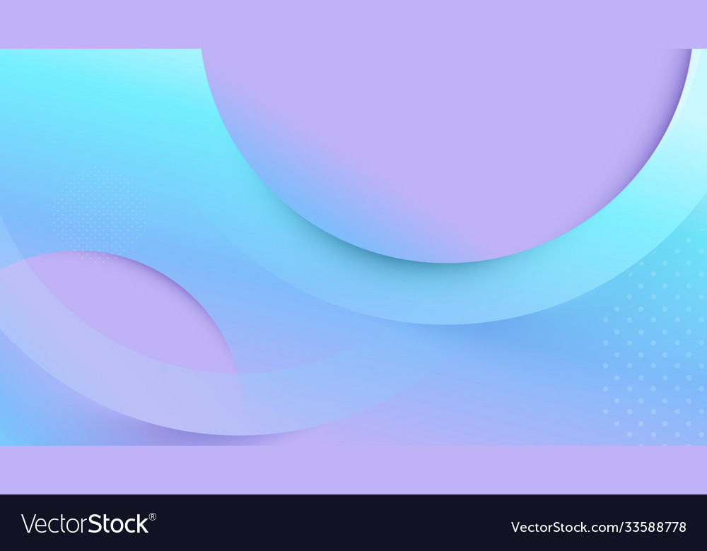 Abstract geometric fluid shape color background