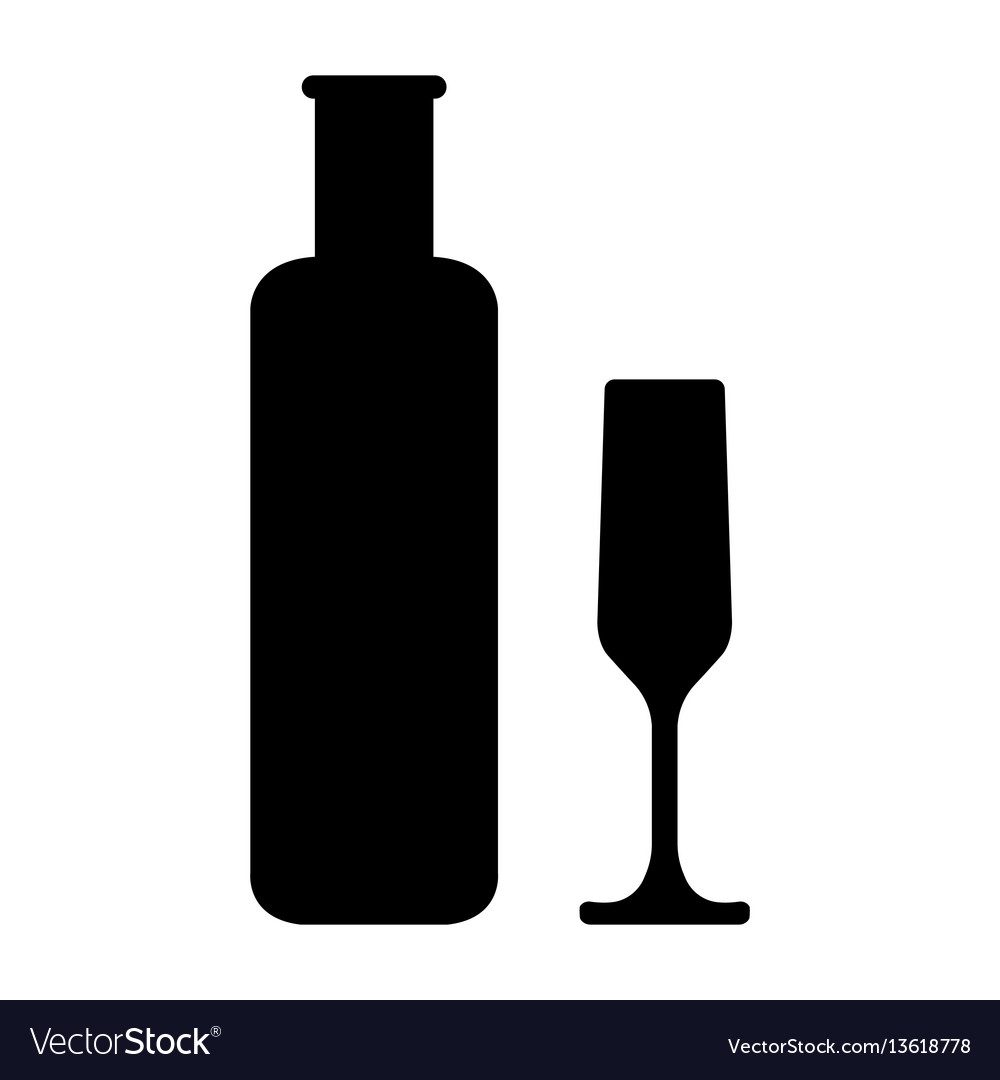 Bottles and glasse of alcohol