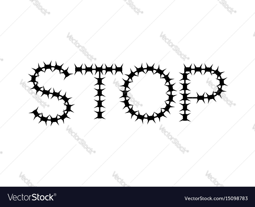 Stop of barbed wire letters of fencing Royalty Free Vector Barbed Wire Diagram on lead diagram, cable diagram, oil diagram, gas mask diagram, plywood diagram, cat 5 wiring diagram, led wiring diagram, copper diagram, ammunition diagram, compound diagram, fence diagram, television diagram, windows diagram, fire diagram, steel diagram, iron diagram, barbed hook, titanium diagram, deck parts diagram,