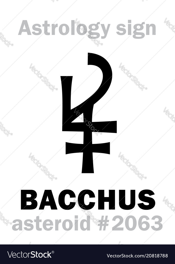 Astrology asteroid bacchus