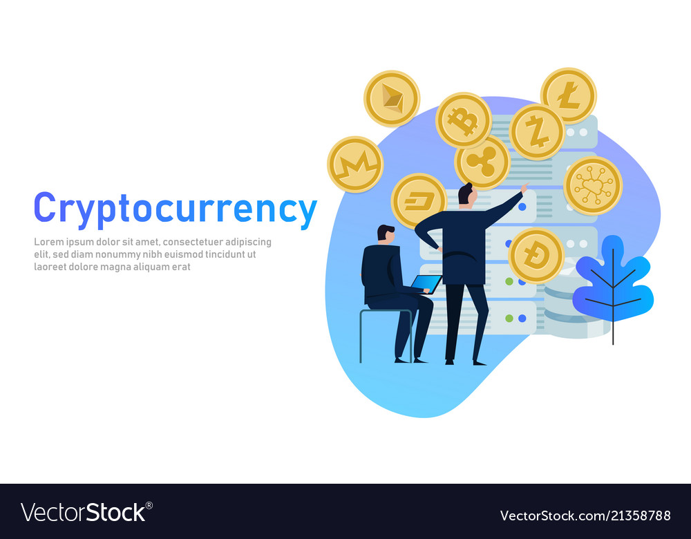 Cryptocurrency and blockchain composition big