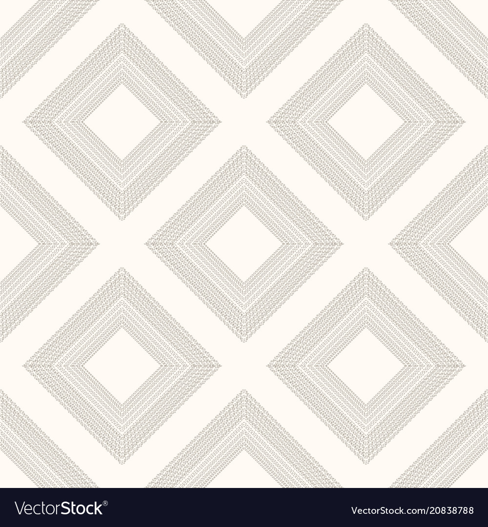 Geometrical pattern in dark gray colors seamless vector image