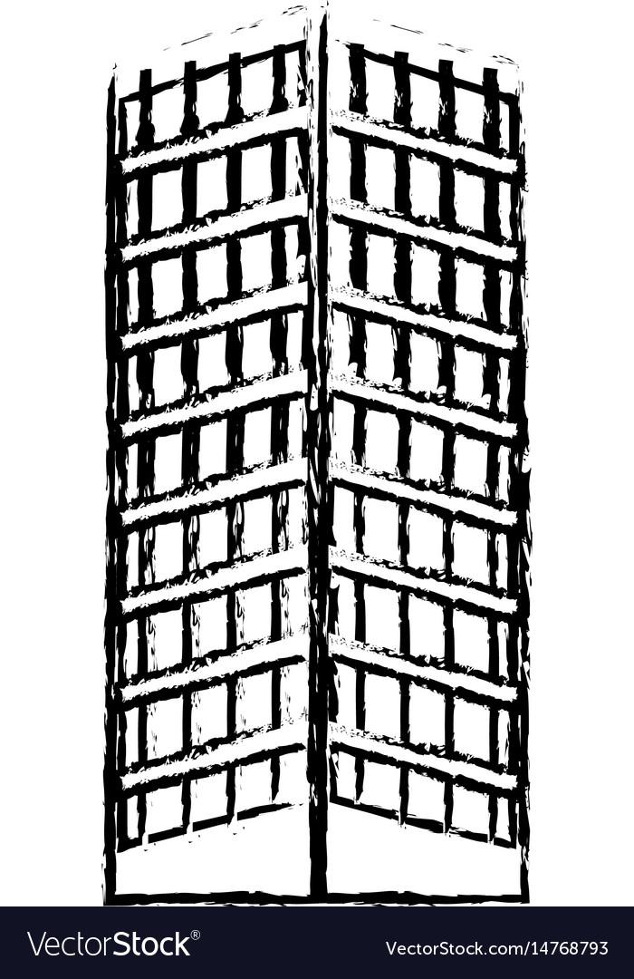 Building structure architecture windows design